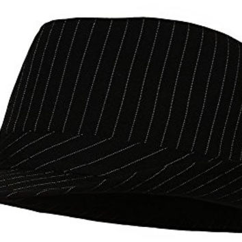Pinstripe Fedora Hat - Small/Medium