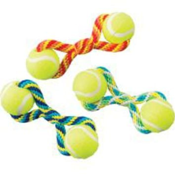 Ethical Pet Tuggaball Double Tennis Ball 7 inch Dog Toy