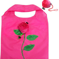 ROSE REUSABLE SHOPPING BAG