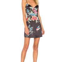by the way. Shaw Button Cami Dress in Dark Floral | REVOLVE