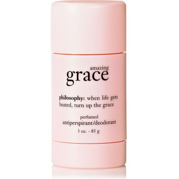 amazing grace | antiperspirant/deodorant | philosophy scrubs & treatments