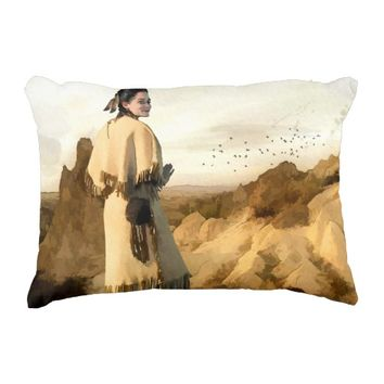 Beauty of the Badlands Pillow