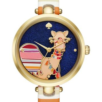kate spade new york holland camel bracelet watch, 34mm | Nordstrom
