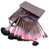 20 PCS Makeup Cosmetic Brush Tool Set with Pouch
