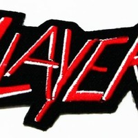 Slayer III Rock Music Band Logo Iron on Patch Great Gift for Men and Women/ramakian