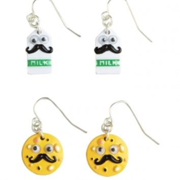 Milk And Cookies Earrings | Girls Accessories Clearance | Shop Justice