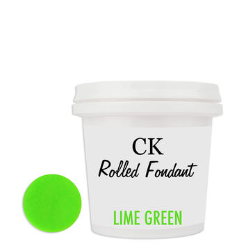 Lime Green CK Fondant 8oz