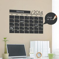 New Monthly essential Office Planner Calendar MEMO Chalkboard. Home Decor