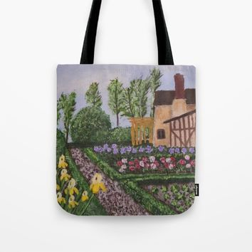 Spring Garden Tote Bag by Lindsay