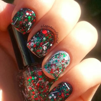 Christmas Traditions - Handmade Christmas Nail Polish