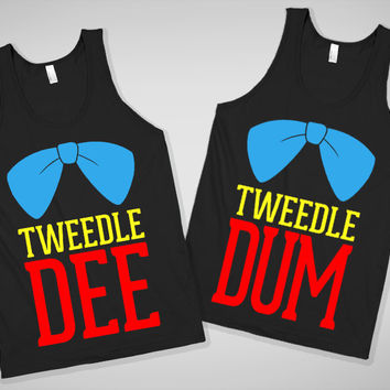 Tweedle Dee & Tweedle Dum Tanks For Buddies