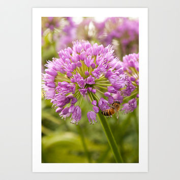 Honey Bee Mine Art Print by Legends of Darkness Photography