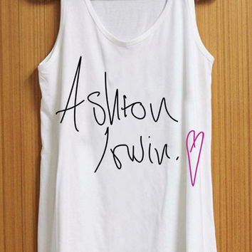 ASHTON love tank top for womens and mens heppy feed