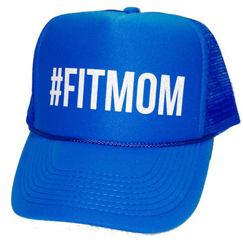 #FITMOM Fit Mom Glitter Trucker Hats