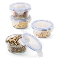 resuseit Round Glass Food Containers, Set of 4 | Testing