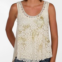 Jolt Surplice Back Tank Top