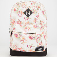 Neff Rosie Scholar Backpack White Combo One Size For Women 26032016701