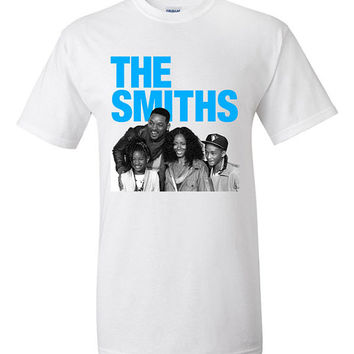 The Smiths T-shirt Funny Tshirt Tee Shirt Gift Humor Hipster Will Smith Family Morrissey Willow Smith Jaden Music 80s New Wave College Humor