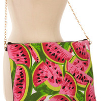 Simply Sweet Watermelon Clutch