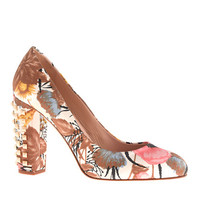 Etta studded-heel pumps - pumps & heels - Women's shoes - J.Crew