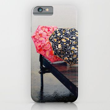 Rainy Day Friends iPhone & iPod Case by :: GaleStorm Artworks ::