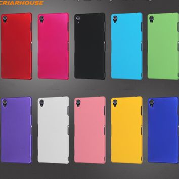 hard pc Matte Frosted phone case For SONY XPERIA XA X Performance C5 M2 M5 C4 M4 E4 E3 E4G M2 Z3 Z1 Z4 Compact Mini back cover