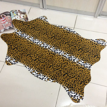 Animal Hot Sale Leopard Floor Mat = 4883704004