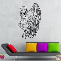 Wall Stickers Vinyl Decal Demon Zombie Vampire With Wings Creepy Decor Unique Gift (z2127)