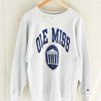 Vintage Champion Ole Miss Sweatshirt