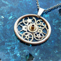 Clockwork Pendant Traveler by amechanicalmind