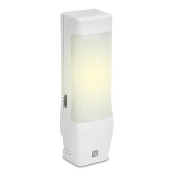 Amerelle 73068 Automatic Mini Utility Fluorescent Light - White