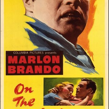 On the Waterfront 14x36 Movie Poster (1954)