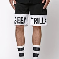 Been Trill Mesh Shorts - Mens Shorts - Black