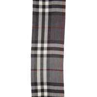 Burberry Tonal Lightweight Check Cashmere Wool Scarf | Nordstrom