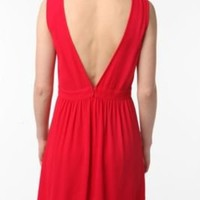 UrbanOutfitters.com > Silence & Noise Crepe V-Back Dress