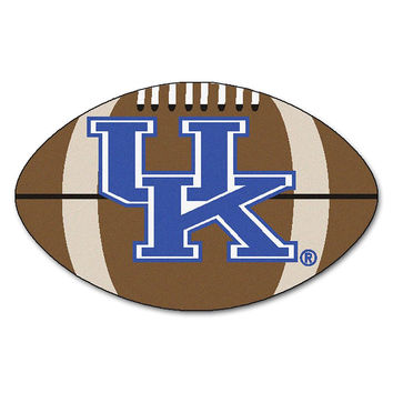 Kentucky Wildcats NCAA Football Floor Mat (22x35) UK Logo