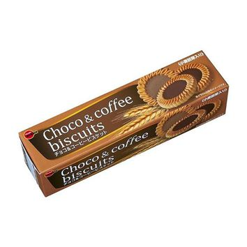 Japanese Choco & Coffee Biscuits by Bourbon, 3.8 oz (108 g)