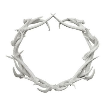 Antler Decor:  Antler Wreath (Oly Studio)