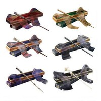 Harry Potter Wizarding Wand Collection Set of 6 by Noble Collection |