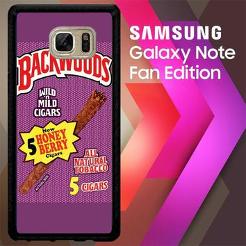 Backwoods Honey Berry Cigars L2091 Samsung Galaxy Note FE Fan Edition Case
