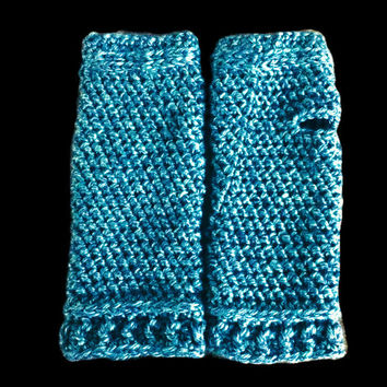 Crochet Fingerless Gloves Pattern, Fingerless Mitt, Armwarmer Pattern - Prairie Fingerless Mitts, Crochet Pattern
