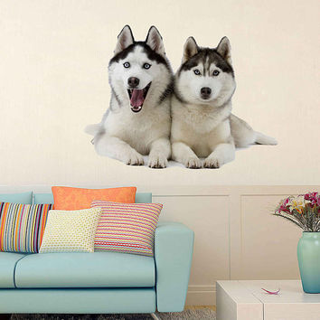 dogs wall Decals dogs wall decor dogs Full Color wall Decals Animals wall Decals veterinary clinic decor Home Decor for kids room cik2216