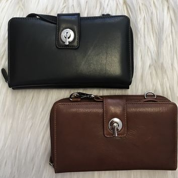 Somebody Special Clutch- Brown or Black