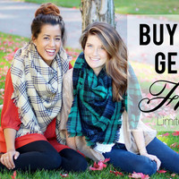 BUY ONE GET ONE FREE BLANKET SCARVES