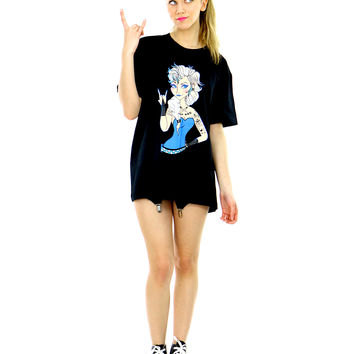 PUNK ICE QUEEN TEE