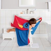 Jumping Beans Superhero Bath Wrap (Blue)