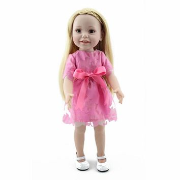 "Right Away 18 "" Princess American Girl Doll"