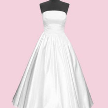 Wedding Dress Extras: Full Length Skirt | Get Go Retro