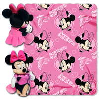 Atlanta Falcons NFL Minnie Mouse with Throw Combo