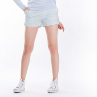 The Essential Chino Shorts in Turquoise Pinwheels